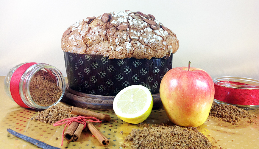 panettone artigianale apple pie