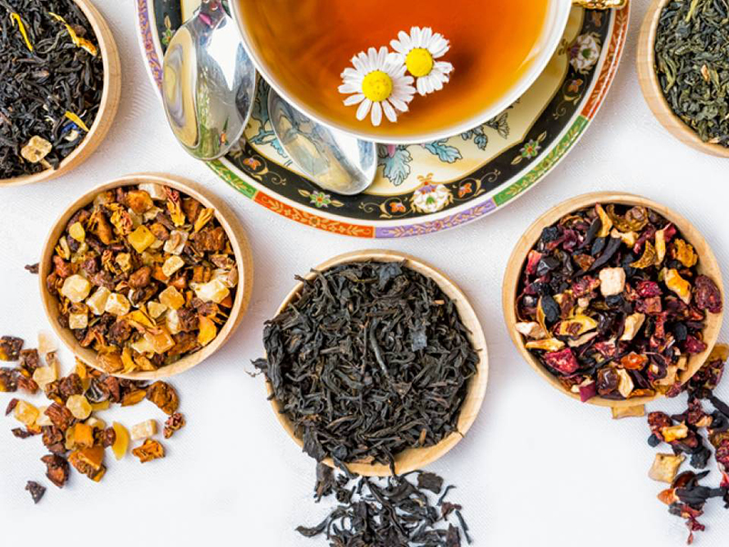 Pregiate varietà di tè