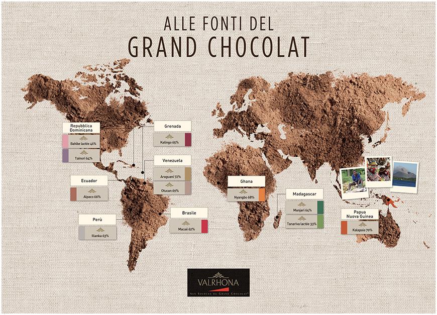 Le Piantagioni di Cacao nel mondo