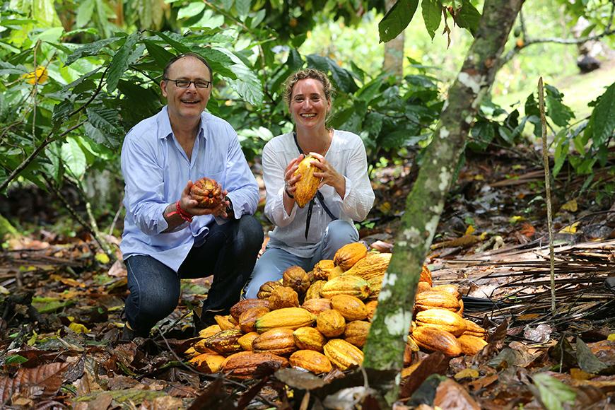 Valrhona Inaugurazione Piantagione di cacao